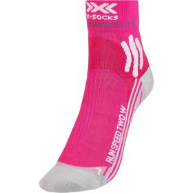 X-Socks Run Speed Two Calze Donna, rosa